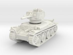 Panzer 38t F 1/100 in White Natural Versatile Plastic