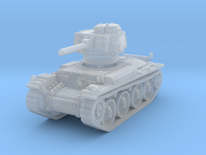 Panzer 38t F 1/200 in Smooth Fine Detail Plastic