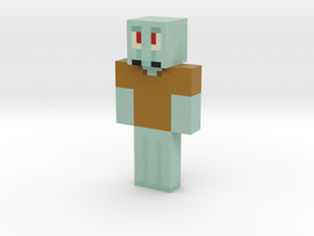 2019_08_26_squidward-13390837 | Minecraft toy in Natural Full Color Sandstone