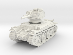 Panzer 38t G 1/56 in White Natural Versatile Plastic