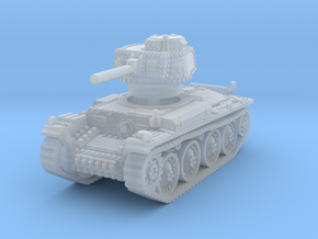 Panzer 38t G 1/220 in Smooth Fine Detail Plastic