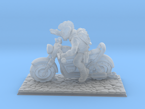 1/144 Nameless Hero Motorcycle Rider in Smooth Fine Detail Plastic