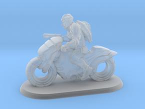 1/144 Modern Motorcycle Warrior Rider in Smooth Fine Detail Plastic