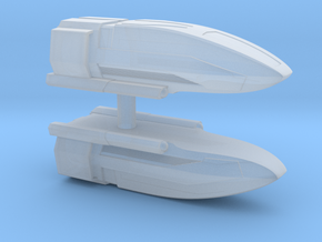 1/350 Class C Shuttle (2x) in Smooth Fine Detail Plastic
