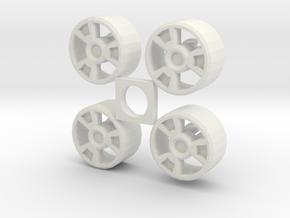 BrawnOutback configA in White Natural Versatile Plastic