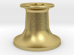 4DPGW004 GWR Belpaire Safety Valve (Dean Goods) in Natural Brass