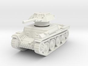 Auf panzer 38t 20mm 1/100 in White Natural Versatile Plastic
