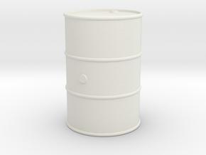 Barril-18-proto-01 in White Natural Versatile Plastic