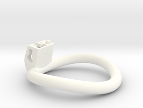 Cherry Keeper Ring - 52mm -9° in White Processed Versatile Plastic