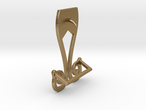 Effyzy Belt in Polished Gold Steel