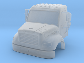 Freightliner 2 Door Closed Windows With Bumper 1-8 in Smooth Fine Detail Plastic