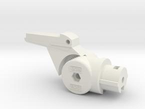 Gass Hi-Capa Buffer Mount SET in White Natural Versatile Plastic