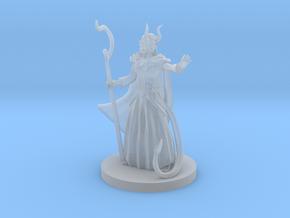 Tiefling Female Druid in Smooth Fine Detail Plastic