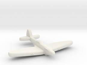 Supermarine SeaFire Mk XV 1:700 spl WW2 in White Natural Versatile Plastic