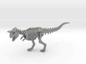 Skeleton Carnotaurus DnD miniature Undead gamesRPG in Gray PA12