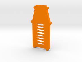 ADS-B Stratux Case Bottom in Orange Processed Versatile Plastic