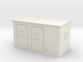 Transformer substation 1/48 in White Natural Versatile Plastic