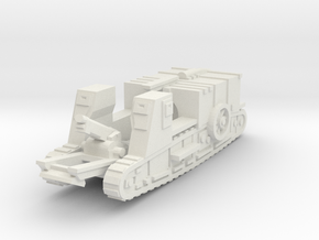 Gun Carrier Mk-1 (elevated) 1/100 in White Natural Versatile Plastic