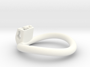 Cherry Keeper Ring - 52mm -12° in White Processed Versatile Plastic