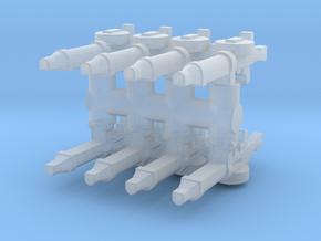 Lewis Gun (x8) 1/120 in Smooth Fine Detail Plastic