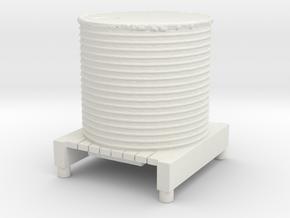 Water Tank 1/76 in White Natural Versatile Plastic