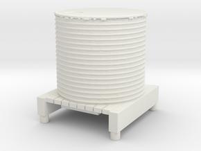 Water Tank 1/56 in White Natural Versatile Plastic