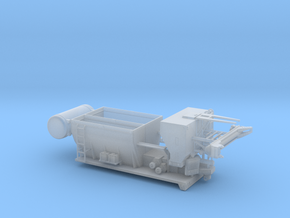 1/87th 7 Yard Volumetric Cement Mixer Truck Body in Smooth Fine Detail Plastic