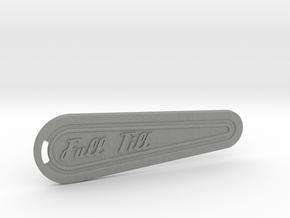 Flipper Bat Keyring - Full Tilt in Gray PA12