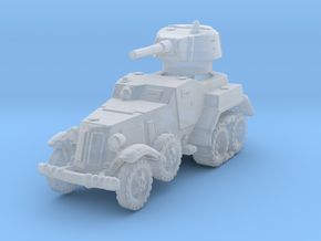 BA-10M (with Tracks) 1/220 in Smooth Fine Detail Plastic