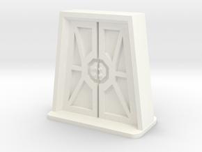 IA Door Small in White Processed Versatile Plastic