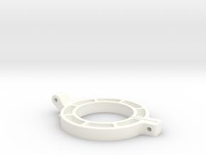 3dp Drill Cover Top in White Processed Versatile Plastic