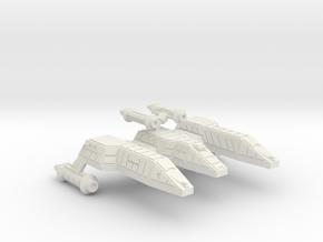 3788 Scale Lyran Refitted Jaguar-H CVN in White Natural Versatile Plastic