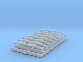 1/87 LB/Rt/2LED/HoSm in Smoothest Fine Detail Plastic