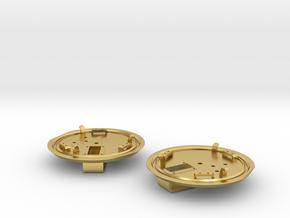 Lukendeckel_R-L in Polished Brass