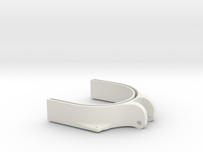3dp Drill Cover Bottom in White Strong & Flexible