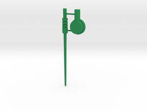 Roadbuster Antenna and Range Finder in Green Processed Versatile Plastic
