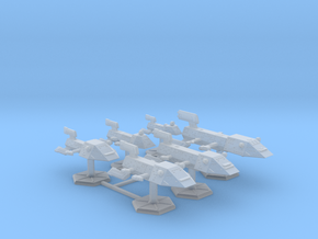 7000 Scale Kzinti Fleet Core Collection SRZ in Smooth Fine Detail Plastic