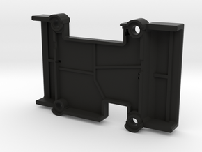 X2.1 Case - Top - Horizontal Pins in Black Natural Versatile Plastic