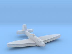 Supermarine SeaFire Mk XV 1:1800 WW2 in Smooth Fine Detail Plastic