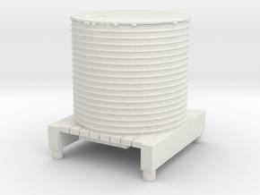 Water Tank 1/48 in White Natural Versatile Plastic