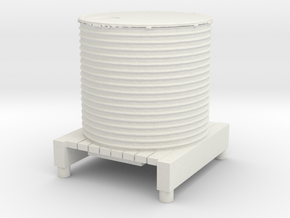 Water Tank 1/43 in White Natural Versatile Plastic