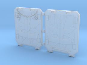 Space Templar Light Tank Door Veteran Style in Smooth Fine Detail Plastic