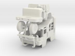 1/24 Pierce Quantum SQUAD Cab in White Natural Versatile Plastic