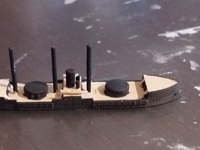 1/1250 Lutfi Djelil Costal Defense Turret Ship in Smooth Fine Detail Plastic