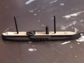 1/1250 Assari Shevket Class Ironclad in Smooth Fine Detail Plastic