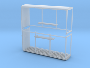Bus stop (x2) 1/144 in Smooth Fine Detail Plastic