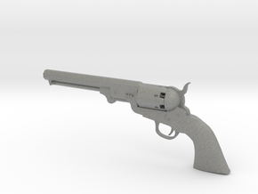1/4 Scale Colt 1851 Navy in Gray PA12