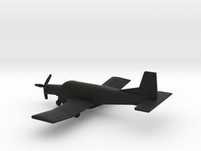 PAC 750XL (Cargo) in Black Natural Versatile Plastic: 1:200