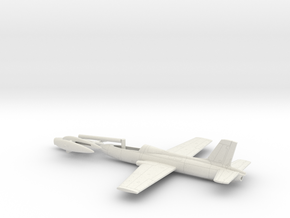 002O Macchi MB-326 1/100 in White Natural Versatile Plastic