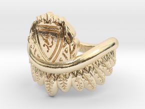 Good Omens: Aziraphale's Ring in 14K Yellow Gold: 3 / 44